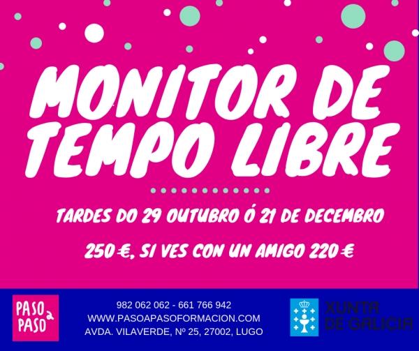 Curso de Monitor/a de actividades de  tempo libre en Lugo