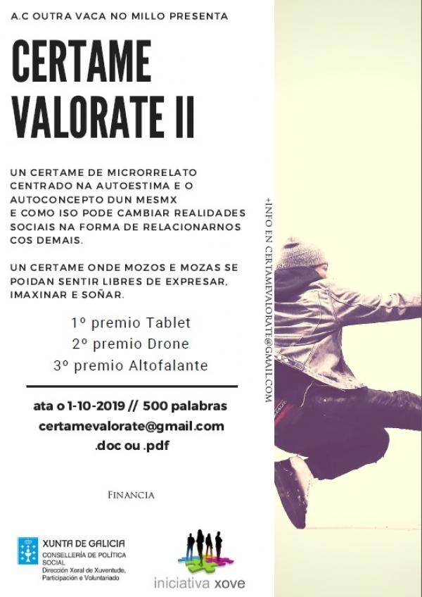 II Certame Literario VALÓRATE