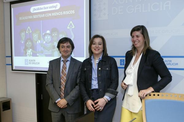 A Xunta impulsa unha nova campaña para concienciar á mocidade dos riscos do sexting