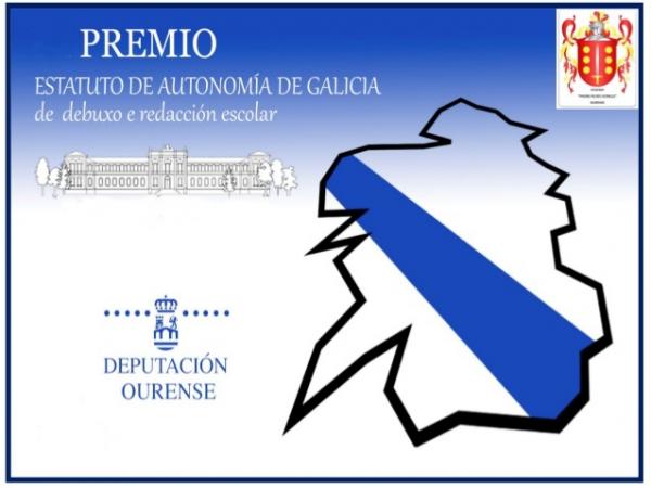 Concurso do Estatuto de Autonomía de Galicia de debuxo e redacción en Ourense