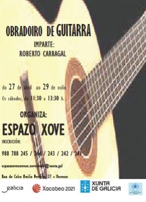 Obradoiro de guitarra gratuito en Ourense