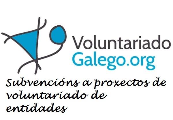 Subvencións a proxectos de voluntariado de entidades