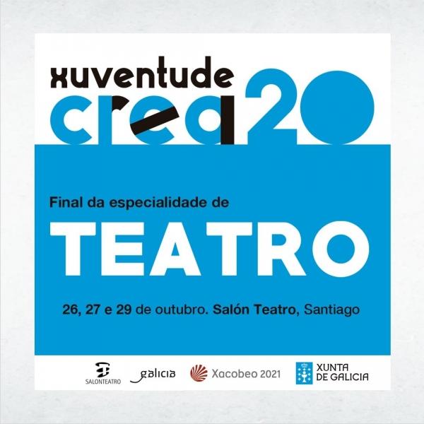 Grupos finalistas da modalidade de Teatro de Xuventude Crea 2020