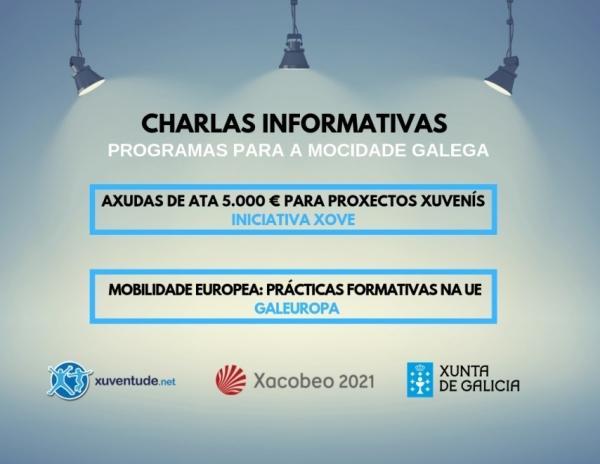 Charlas informativas sobre Iniciativa Xove e Galeuropa