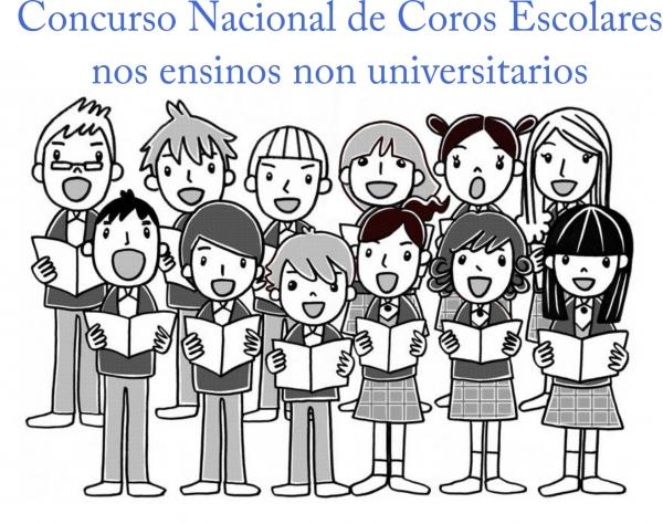 VI Concurso Nacional de Coros Escolares nos ensinos non universitarios