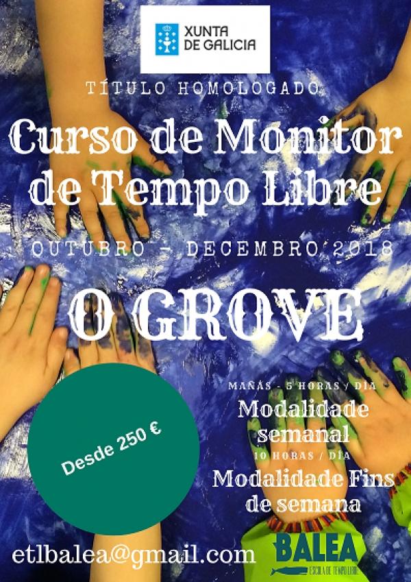 Curso de Monitores/as de actividades de tempo libre no Grove
