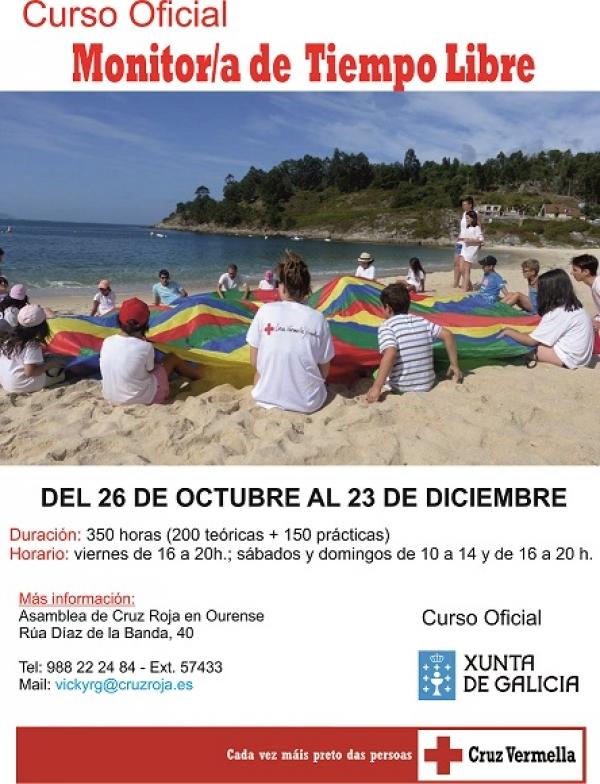 Curso de monitores/as de actividades de tempo libre en Ourense