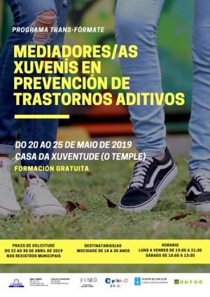 Mediadores/as xuvenís en prevención de trastornos aditivos