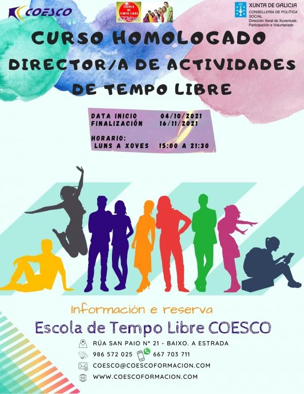 Curso de Director/a de actividades de tempo libre da ETL Coesco