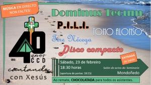 Cantando con Xesús en Mondoñedo