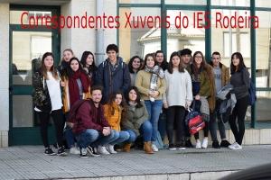 Correspondentes Xuvenís no IES Rodeira de Cangas