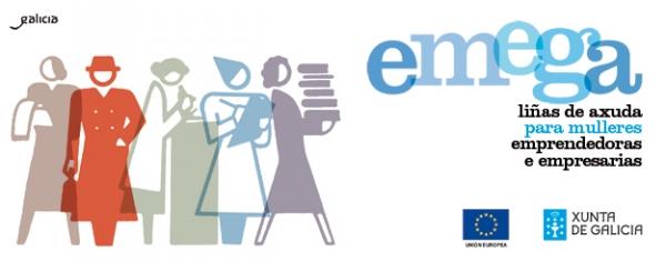 Programa Emega: fomento do emprendemento feminino en Galicia