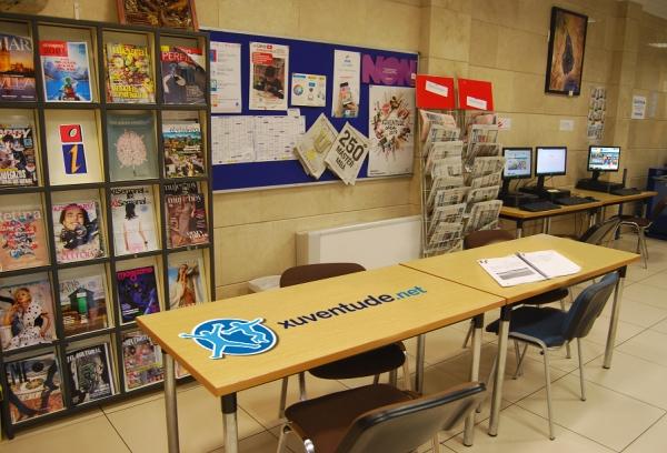 Atención presencial nos Espazos Xoves e no Centro Coordinador de información xuvenil