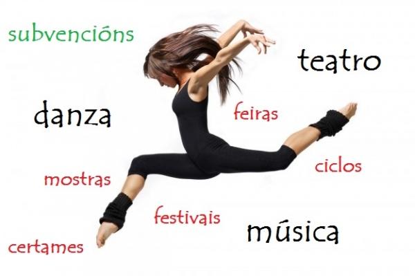 Subvencións á música, ao teatro e á danza de Galicia