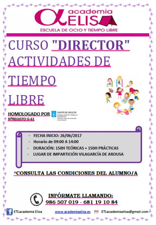 Curso de Director/a de actividades de tempo libre en Vilagarcía de Arousa