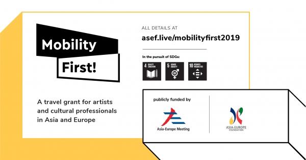 Mobility First! Iniciativa de mobilidade cultural de ASEF