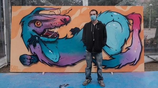 Premios da modalidade de Graffiti de Xuventude Crea 2020