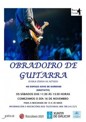 Obradoiro de guitarra en Ourense