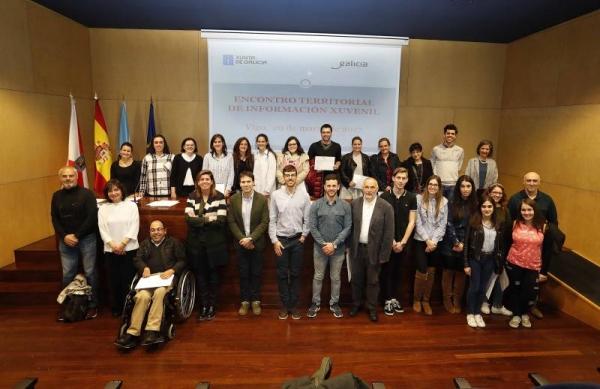 A Xunta premia os participantes nos proxectos desenvolvidos dentro do Programa Servizo Voluntariado Xuvenil 2016