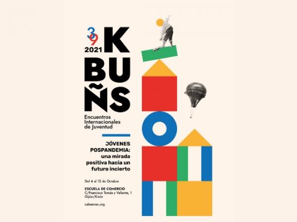 KBUÑS 2021. Encontros Internacionais de Mocidade de  Cabueñes