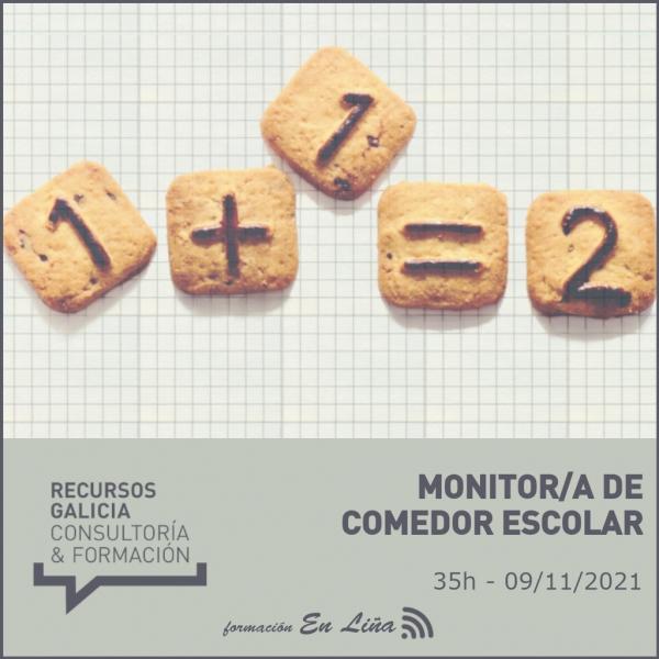 Curso de Monitor/a de comedor escolar