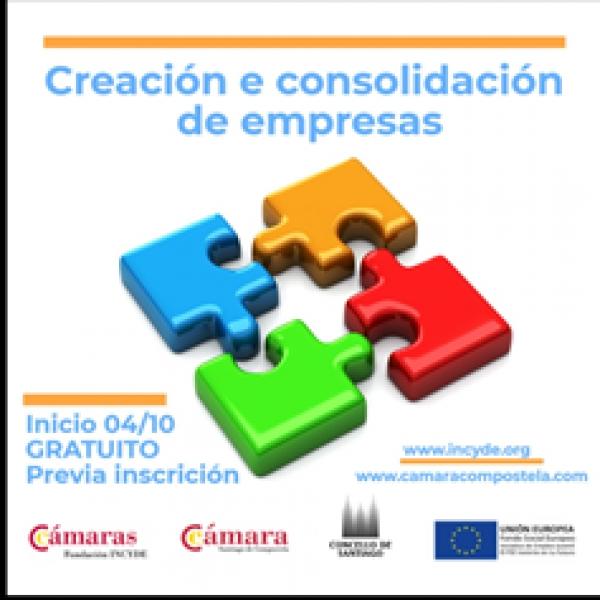 Creación e Consolidación de Empresas en Liña