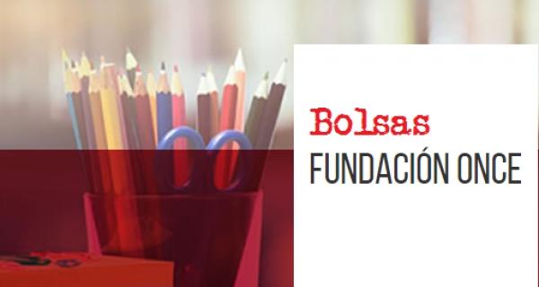 Bolsas da Fundación Once para persoas con discapacidade