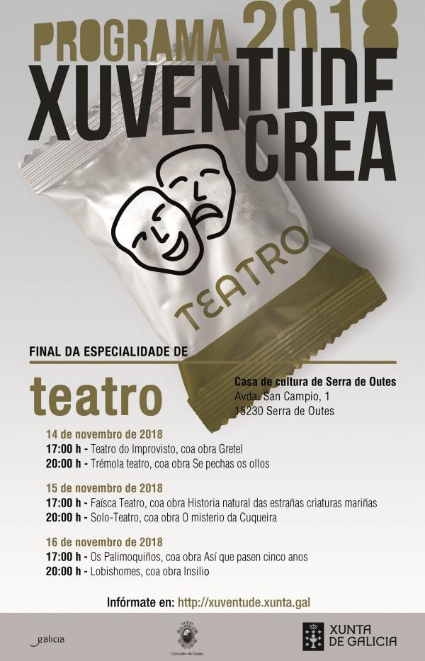Final da especialidade de Teatro de Xuventude Crea 2018