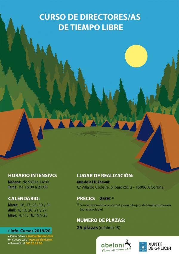 Curso de Director/a de actividades de ocio e tempo libre na Coruña