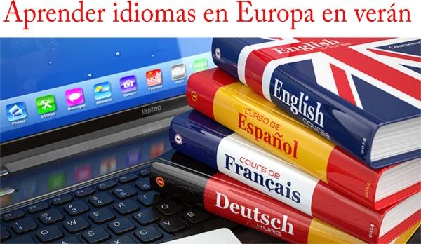 Axudas para facer cursos de idiomas en Europa durante o verán