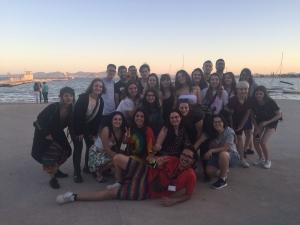 Estudantes de Animación Sociocultural e Turística no Encontro Nacional de Correspondentes Xuvenís