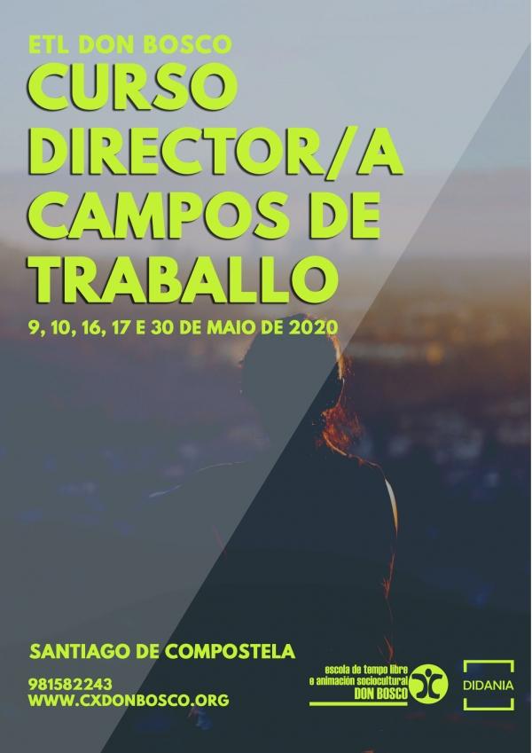 Curso en Santiago de Compostela de Director/a de campos de traballo da ETL Don Bosco