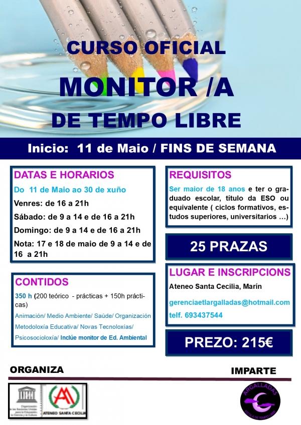 Curso de Monitoras/es de Actividades de Tempo Libre en Marín