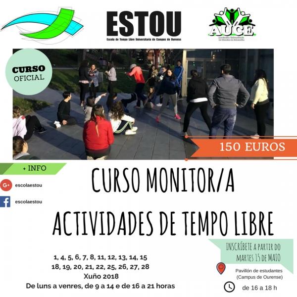 Curso de Monitoras/es de Actividades de Tempo Libre en Ourense