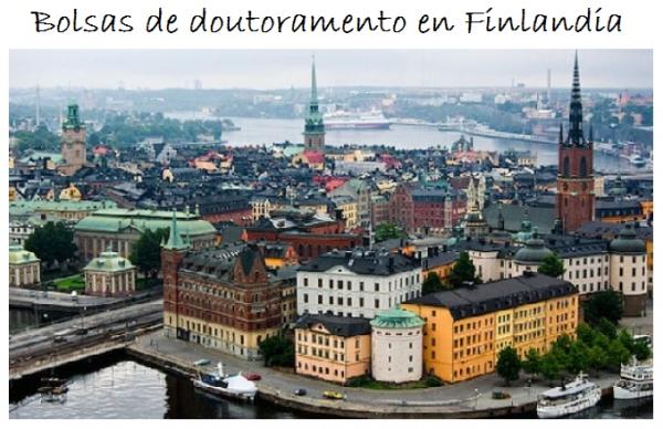 Finlandia: Bolsas para Doutoramento en Diversos Temas