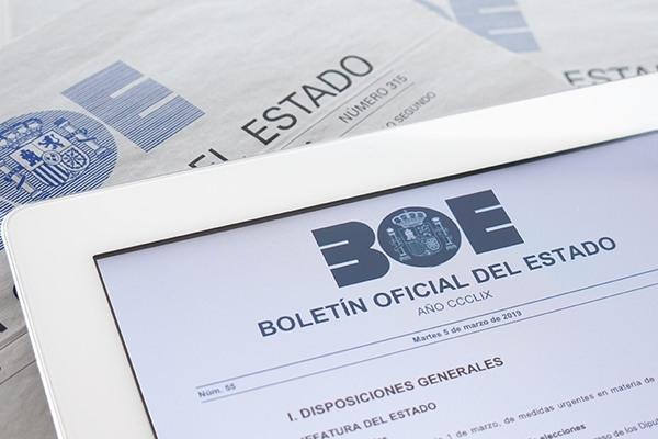 Bolsas na Axencia Estatal Boletín Oficial do Estado