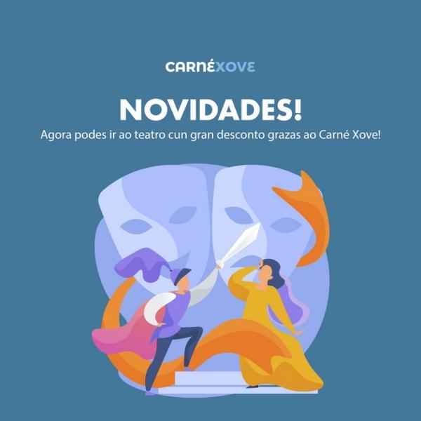Carné xove: Descontos co Carné Xove no Salón Teatro de Santiago