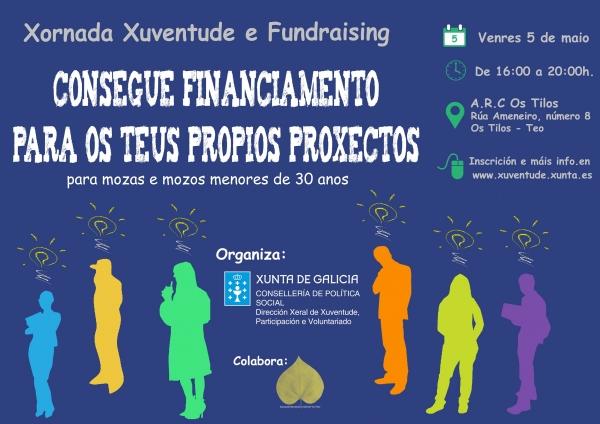 XORNADA XUVENTUDE E FUNDRASING: consegue financiamento para os teu propios proxectos