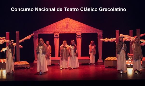 XIV Concurso Nacional de Teatro Clásico Grecolatino