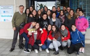 Visita ao Centro coordinador de información xuvenil dos Correspondentes Xuvenís do CIFP Portovello de Ourense