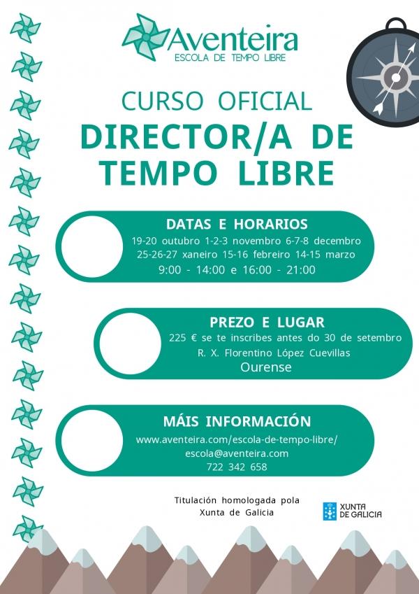 Director/a de Tempo Libre en Ourense- ETL Aventeira