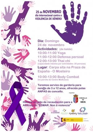 Meis, día internacional contra a Violencia de Xénero