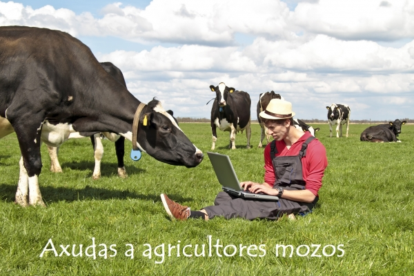Axudas para mozos/as agricultores/as