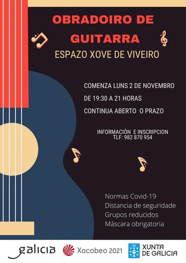 Aprende a tocar a guitarra en Viveiro
