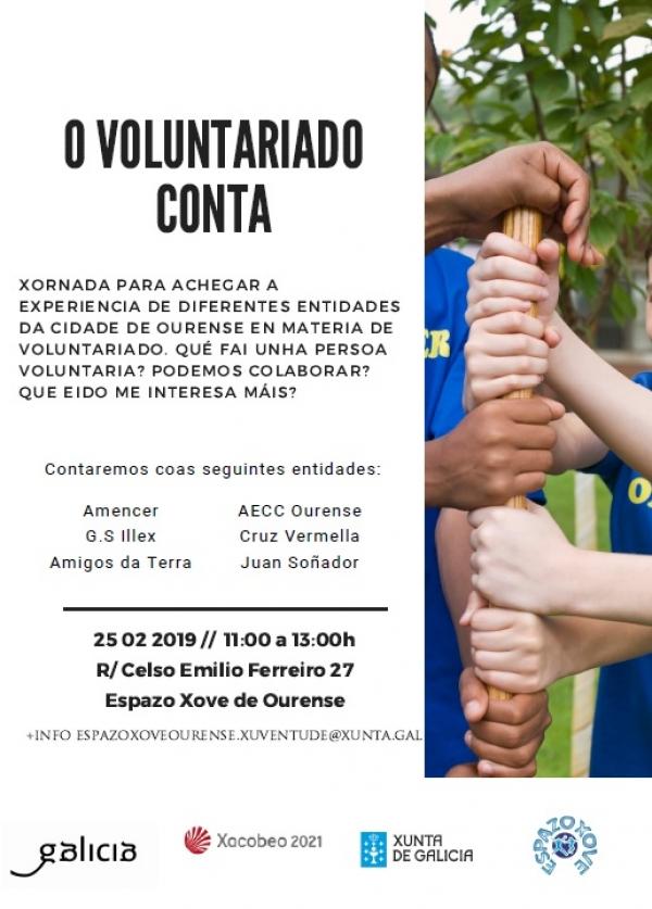 O Voluntariado conta