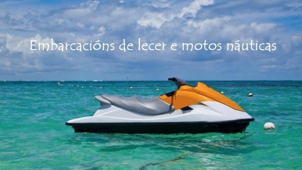 Manexo de embarcacións de lecer e motos náuticas