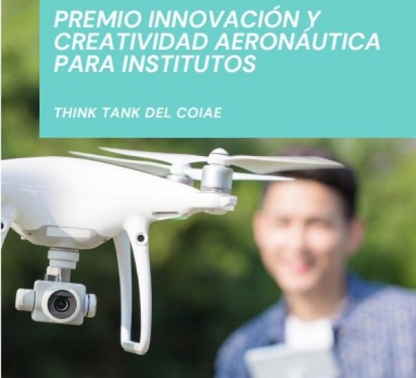 Premio innovación e creatividade Aeronáutica para institutos