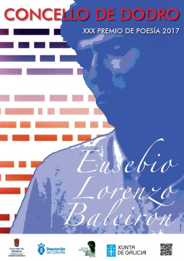 XXX Premio de Poesía Eusebio Lorenzo Baleirón