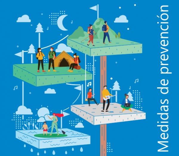 Medidas de prevención nas actividades de tempo libre con poboación infantil e xuvenil e albergues e campamentos xuvenís