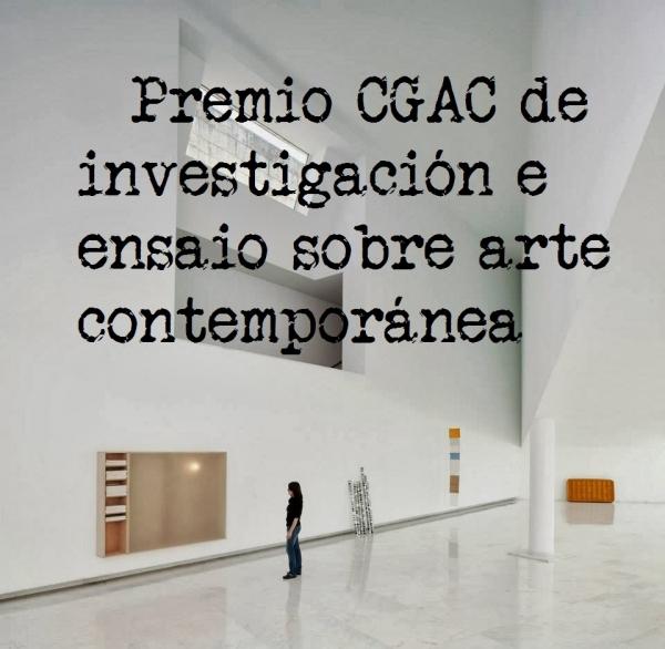 III Premio CGAC de investigación e ensaio sobre arte contemporánea